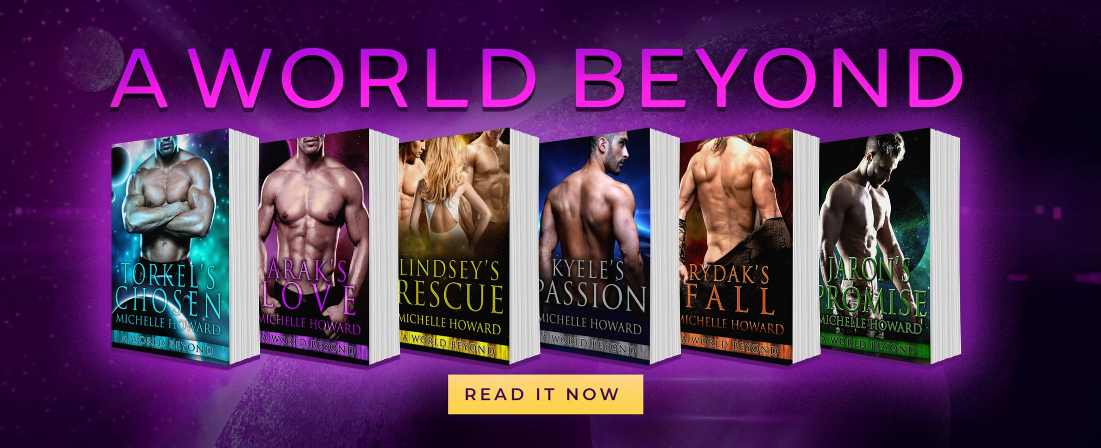 A World Beyond Novels by Author Michelle Howard
