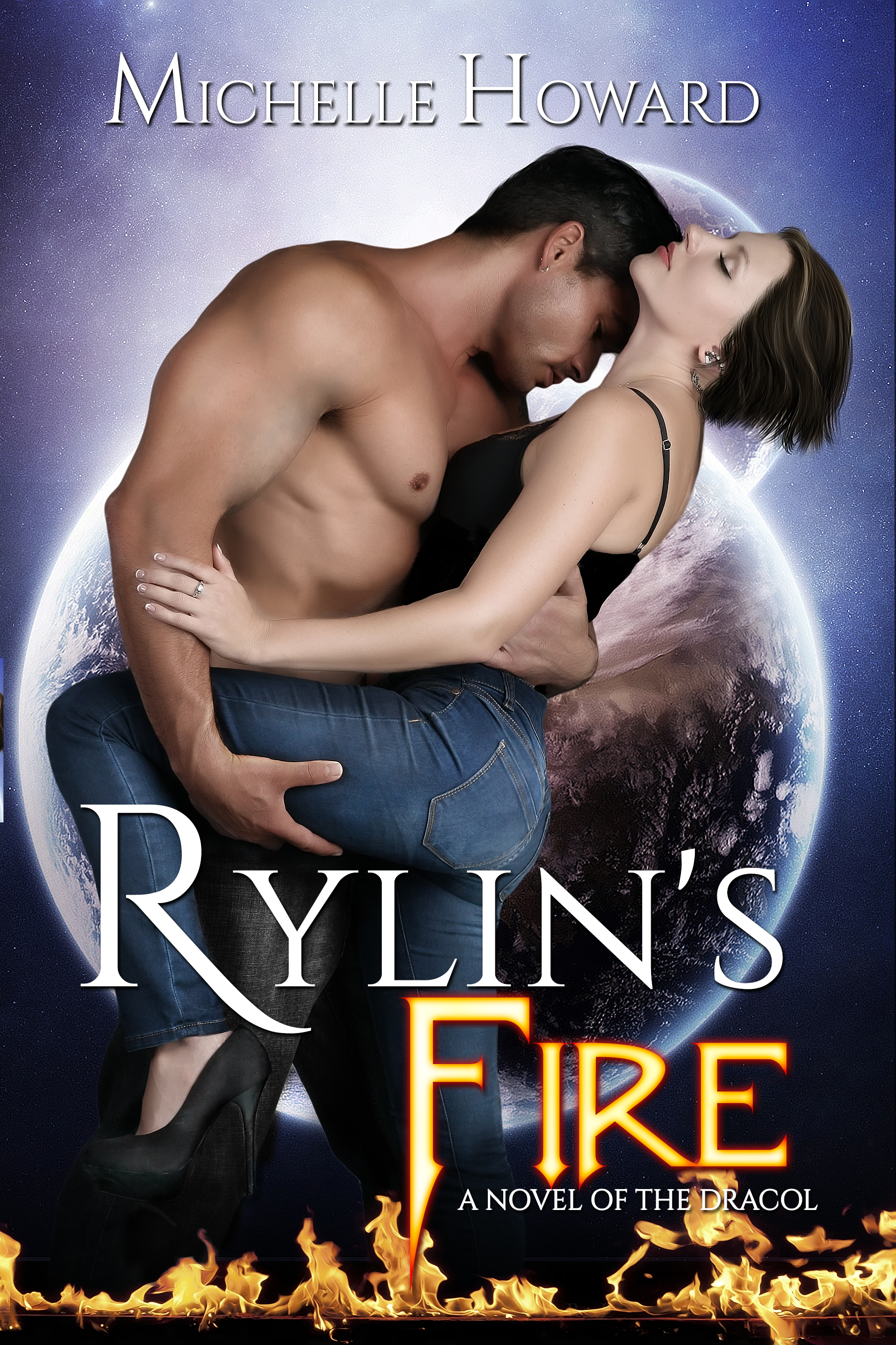 Rylin's Fire by author Michelle Howard
